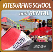 bali kite surfing school